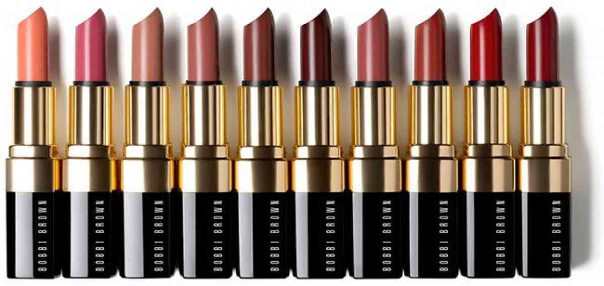 Bobbi Brown's 10 original lipstick shades released in 1991.