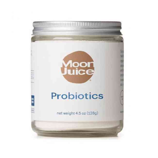 Moon Juice Probiotic supplement to support gut health