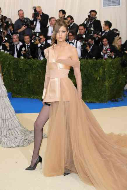 Gigi Hadid at Met Gala Ball 2017