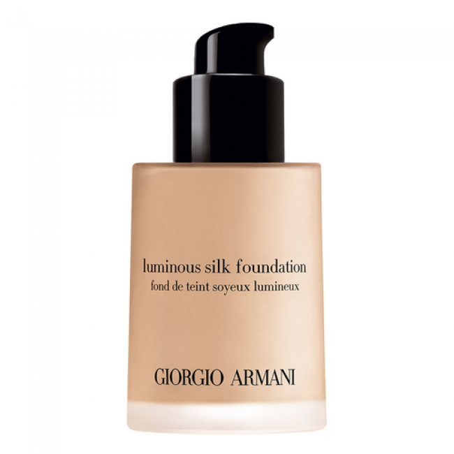Giorgio Armani's luminous silk foundation is good for dry skin
