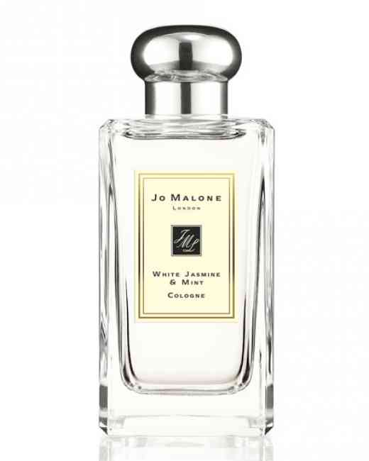 Bottle of Jo Malone White Jasmine & Mint Cologne