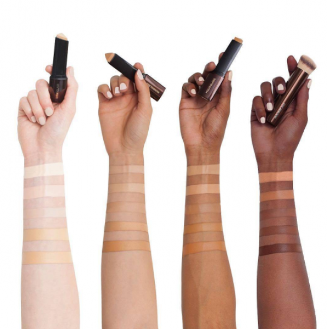 Apply foundation to your skin with colour tone to match your skin type