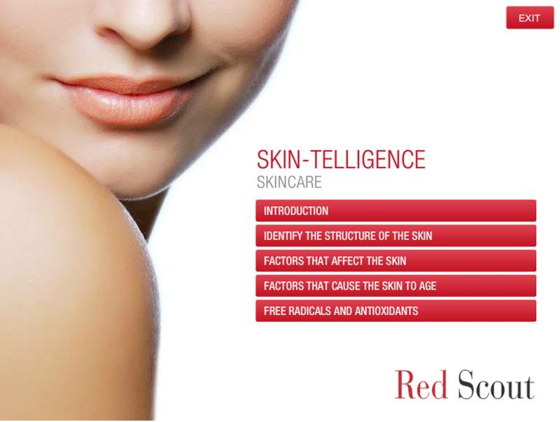 Red Scout Skincare module