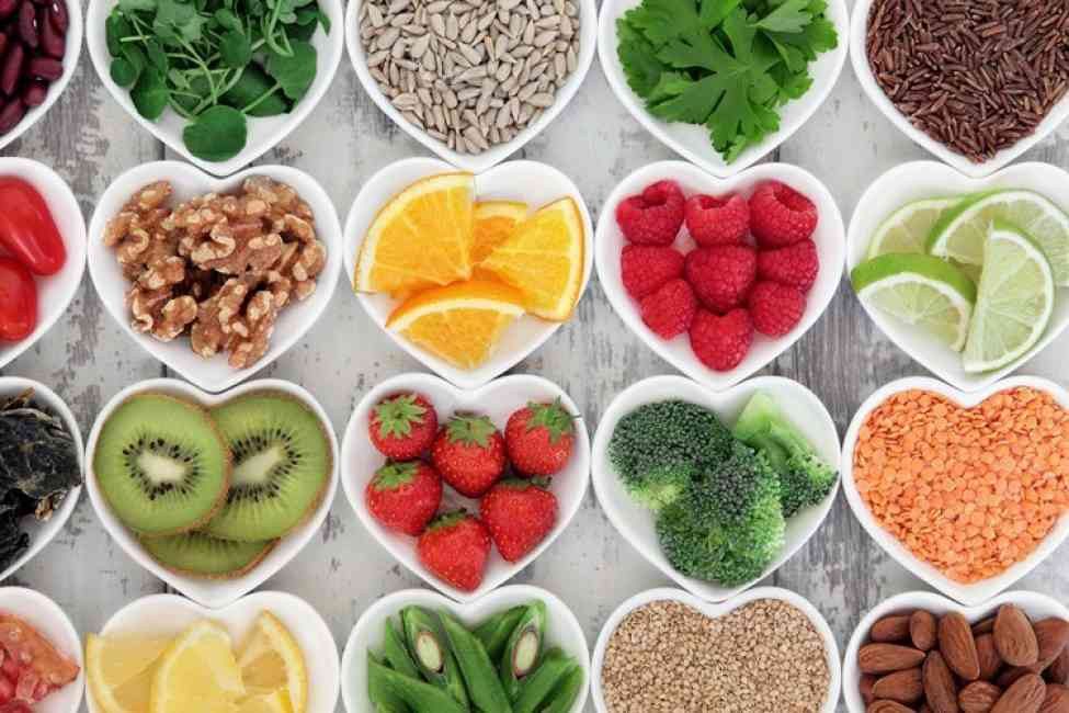 Fruits and vegetables for healthy skin