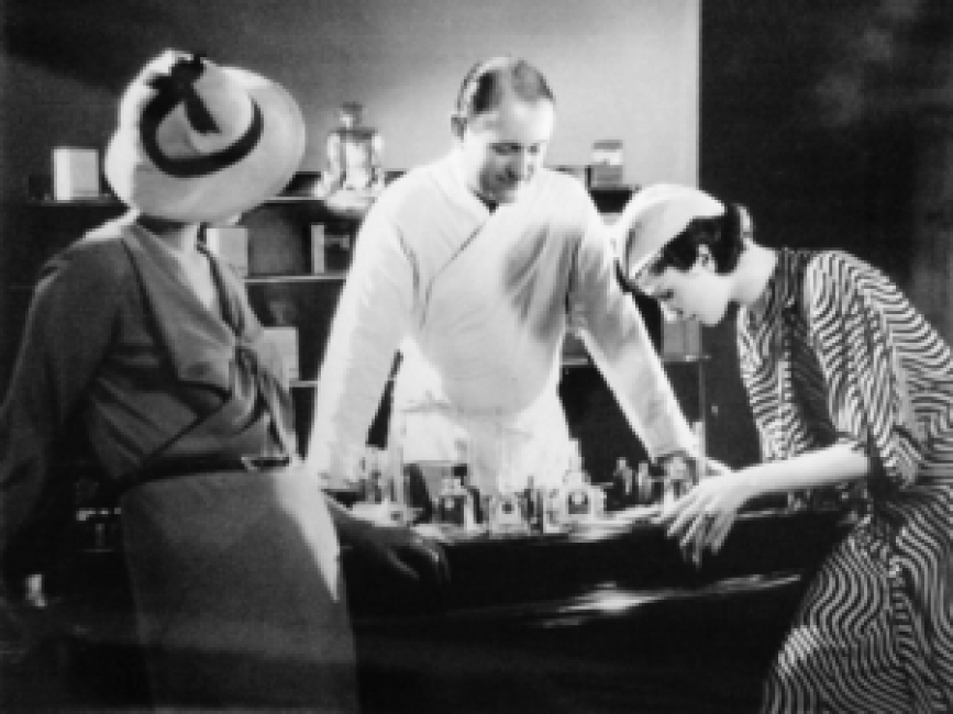 Perfumers working with each other to create great scents.