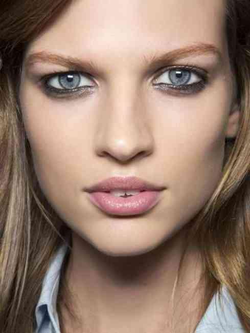 Messy Makeup.