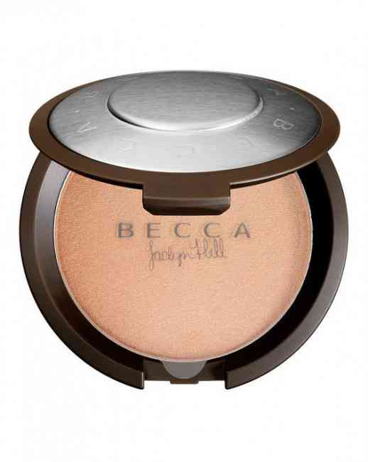 BECCA shimmering skin perfector with Jacklyn Hill
