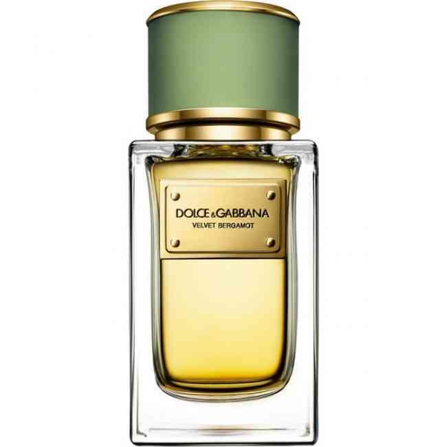 Bottle of Dolce & Gabbana Velvet Bergamot Eau de Parfum