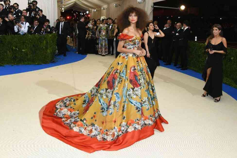 Zendaya at the Met Ball 2017