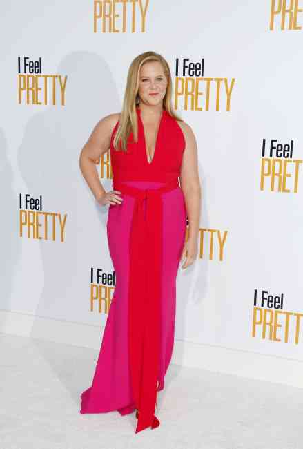 Amy Schumer at the 'I Feel Pretty' red carpet in Los Angeles