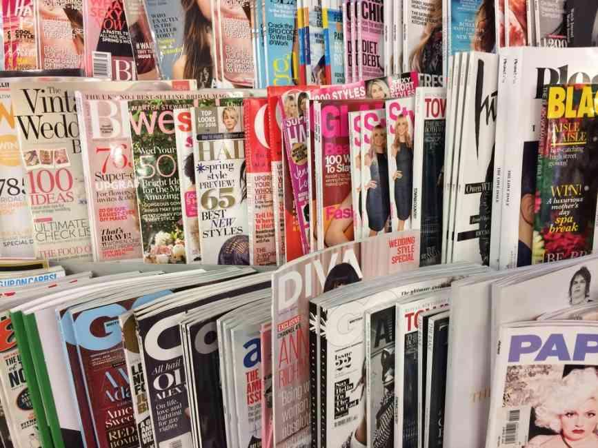Magazine covers in bulk